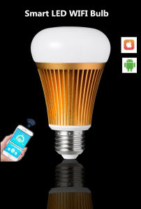 Intelligent LED Lighting Rgbww Mobile APP Long Range Control Smart Home WiFi LED Bulb Lamp Light