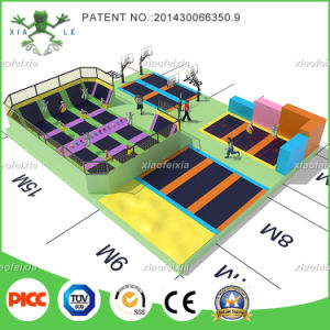 Xiaofeixia China Top Quality Custom Made Trampoline Park pictures & photos