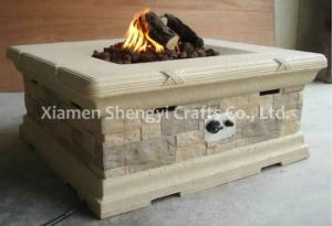 Firepit Table/ Brick Firepit Table/ Lp Gas Firepit Table (ART-6106)
