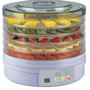 Fruit Dryer with 5 Transparent Trays