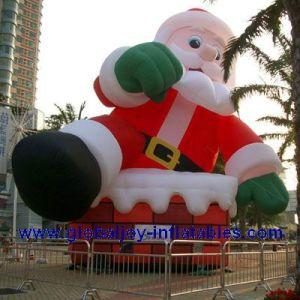 Inflatable Santa Claus Inflatable Christmas Decoration Santa X Man 011