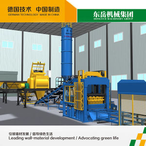 Qt10-15 Block Making Machinery, Fly Ash Block Making Machine pictures & photos