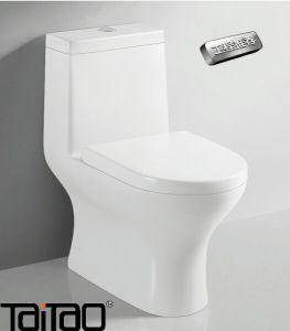 Ce Verified Dual Flush Eco Friendly Vitreous China One Piece Toilet Siphon  Jet Taitao
