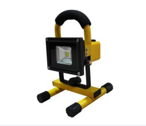10W Rechargeable LED Flood Light with 3-Years Warranty