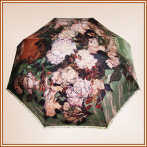 Polyester Print Umbrellas for Ladies pictures & photos