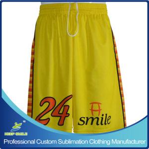 Custom Made Sublimation Lacrosse Team Shorts pictures & photos
