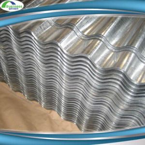 China 0 14mm Thickness Z80 Tole Ondule Gi Galvanized Metal