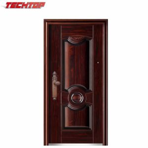 China Tps 074 Home Door Model Door Stainless Steel Grill Door Design