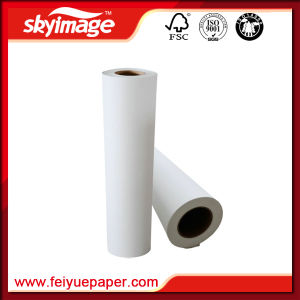 Highest Efficiency 105GSM 3, 200mm*126inch Roll Tacky/Sticky Dye Sublimation Paper for Large Format Digital Printing pictures & photos