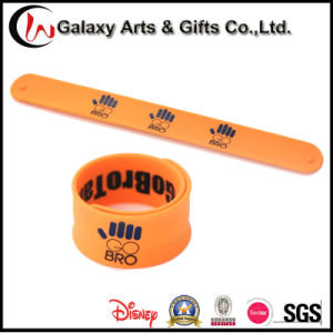 Factory Direct Wholesale Silicone Slap Band/Slap Bracelet/Slap Wrap Band
