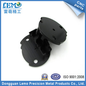 Precision Black Anodized CNC Machined Parts for Aircraft (LM-9257) pictures & photos