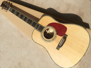 Hanhai Music/41′′ Acoustic Guitar with Top Solid (D45) pictures & photos