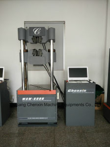 Micro-Computer Control Electro-Hydraulic Servo Universal Testing Machine Utm (WAW-600B) pictures & photos