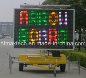 Solar Self Chargeable Mobile Multi Color Traffic Sign Animation High Quality with Competitive Price pictures & photos