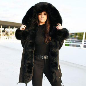 Large Fur Hood Parka
