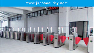 Access Control Security High Speed Automatic Ce Approved Flap Barrier Gate pictures & photos