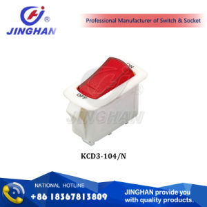 Kcd3-104/N Jingahn 16A 250V Rocker Switch pictures & photos