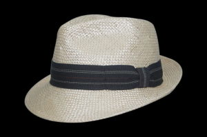 2017 Summer Leisure Cowboy Bucket Straw Hat with Flex Belt (FS0001)