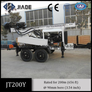 Jt200y Multipurpose Portable Water Well Drilling Equipment
