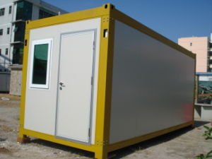 Prefabricated Light Steel Container Houses of Flat Roof pictures & photos