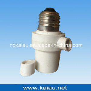 Day Night Sensor Light Control Photocell Sensor Lamp Holder (KA-SLH07) pictures & photos