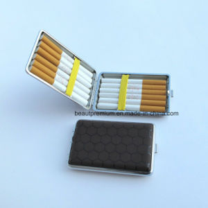 portable Folding Cigarette Case with Printed Geometric Patterns BPS0189