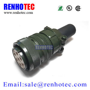 Standard Circular Connector Ms3106 7pin Solder Type Female Plug pictures & photos