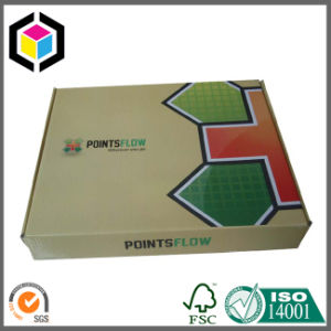 Foldable Glossy Color Print Corrugated Paper Shipping Box