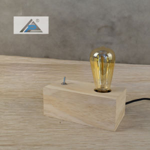Pine Wood Table Lamp with Filament Style (C5007340P) pictures & photos