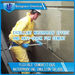 Excellent Waterproof Effect and Anti-Crack Acrylic Dispersion for Cement pictures & photos