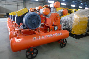 Reliable Kaishan 20HP 5bar Movable Piston Air Compressor for Mining Use W-2.6/5 pictures & photos