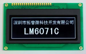192X64 Graphic LCD Display Cog Type LCD Module (LM6071C) pictures & photos