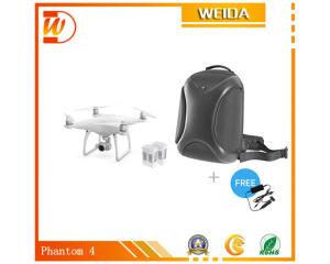Phantom 4 Quadcopter + Two Extra Batteries + Multifunctional Backpack + Car Charger