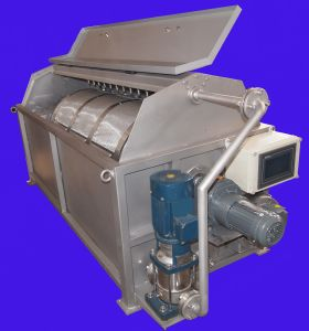 Rotary Drum Water Filter System for Slaughter Water Treatment pictures & photos