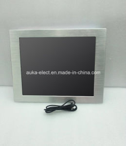 15 Inch Waterproof Touch Screen Monitor IP65 for Industrial Application pictures & photos