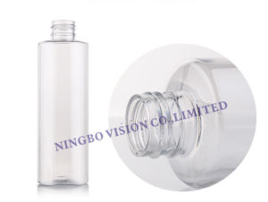 200ml Clear Plastic Bottle with Plastic Lotion Pump pictures & photos