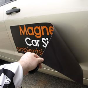 China High Quality Car Door Magnets And Magnetic Signs With Full