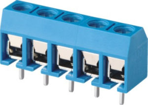 Slide Closed of PCB Terminal Block (WJ306-10.0) pictures & photos