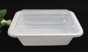 Meal Prep Food Storage FDA/LFGB Approved Plastic Lunch Box Bento Container Microwave Safe pictures & photos