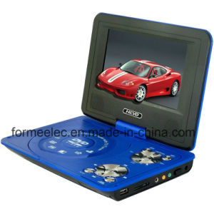 "7"" LCD Portable DVD Player with TV FM Radio Game pictures & photos"