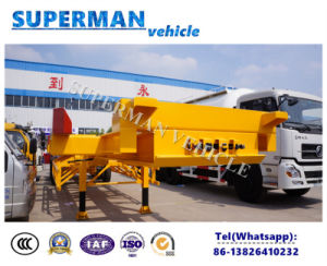 Utility Port Use Terminal Skeleton Frame Container Semi Truck Trailer pictures & photos