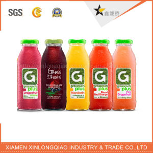Barcode Adhesive Paper PVC Transparent Label Printing Beverage Bottle Sticker pictures & photos