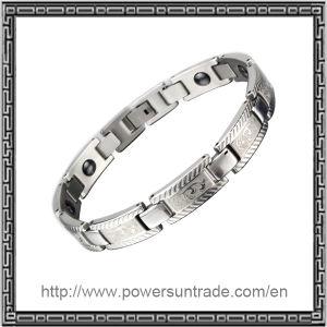 Stainless Steel Bracelet Clasp Positive Energy Bracelets With Germanium Stones