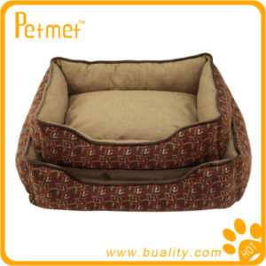 Rectangle Dog Bed with Removable Pillow (PT38130)