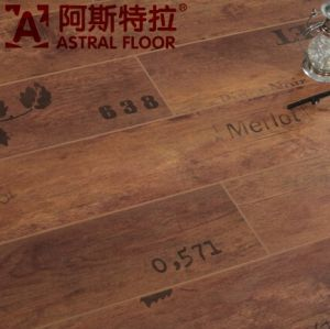 2015 Hotsale New Product 12mm HDF Letter Laminate Flooring (AST900) pictures & photos