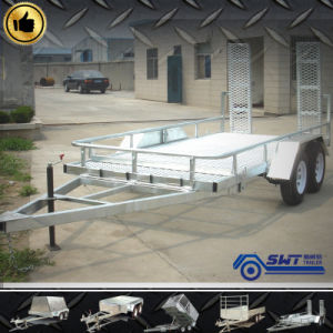 Supply Tilt Car Trailer for Equipment Transportation pictures & photos