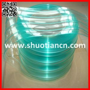 High Quality Green Anti-Static PVC Strip Curtains (st-002) pictures & photos