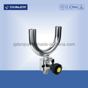 Ss 316L Manual Sanitary U Type Tee Diaphragm Valve Welded Ends pictures & photos