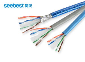 Indoor Four Pair Twist UTP/FTP Ethernet Cat5e CAT6 Network Cable pictures & photos