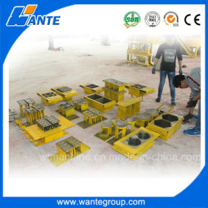 2 Piece/Mold Low Cost Cement Hydraulic Automatic Brick Making Machine pictures & photos